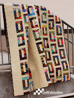 Slots modern quilt