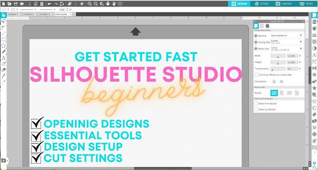silhouette 101, silhouette america blog, silhouette CAMEO beginners, silhouette cameo beginner tutorials, silhouette studio v4 basics
