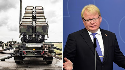 Швеция купит Patriot для уничтожения российских ракет