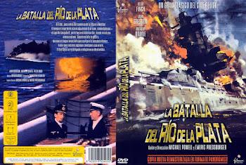 Carátula dvd: La Batalla del Río de la Plata (1956)(The Battle of the River Plate)