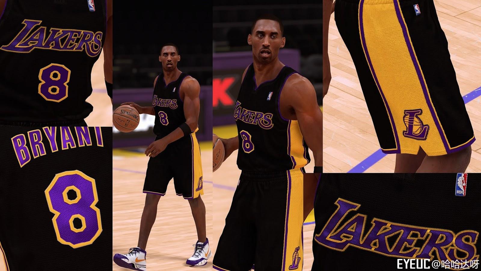 check out dd792 ca724 NBA 2K19 Los Angeles Lakers uniform