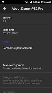 Damon PS2 Pro Apk