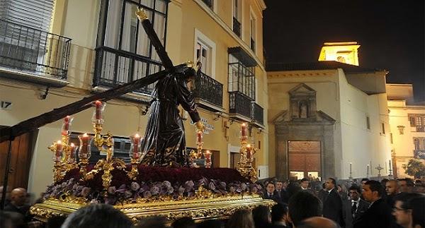 Horario e Itinerario Vía Crucis del Señor de la Salud de la Hdad de La Candelaria de Sevilla