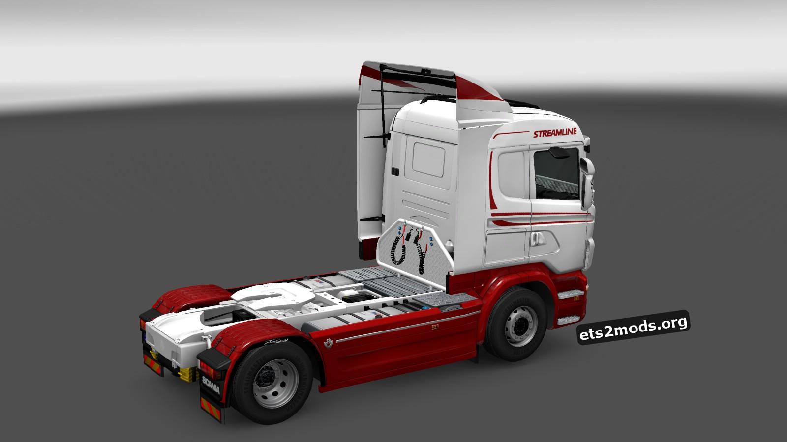 White Star Skin for Scania RJL