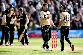 Cricket Highlightsz - New Zealand vs Australia 3rd T20I 2021