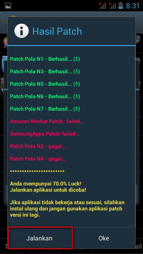 Cara Install dan Gunakan Lucky Patcher