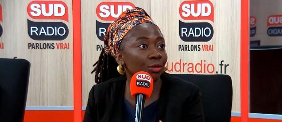 """Danièle Obono déplore le choix """"d'un homme blanc de droite"""" au poste de Premier ministre"""