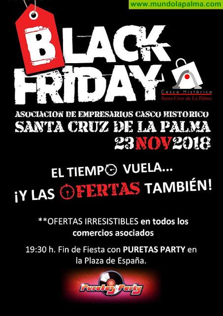 Irresistibles ofertas y 'Puretas Party' para celebrar el 'Black Friday' en la capital