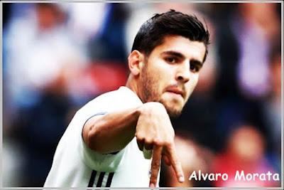 Perebutan striker Real Madrid Alvaro Morata, oleh AC Milan, Chelsea, dan Manchester United