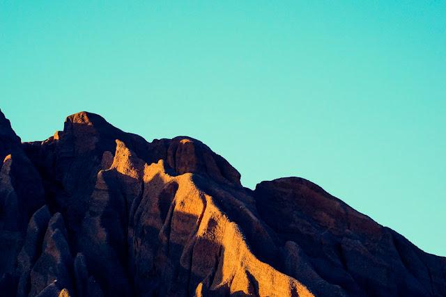 Bald Mountain at sunset