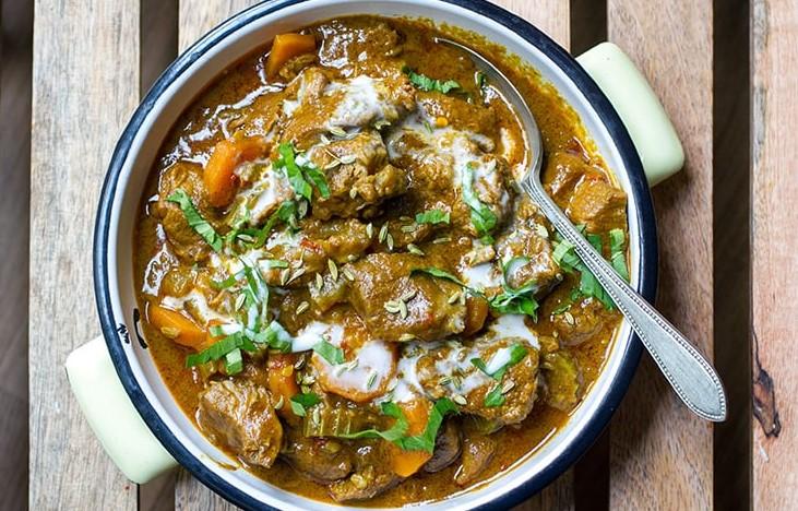 Scrummy Curry Coconut Lamb