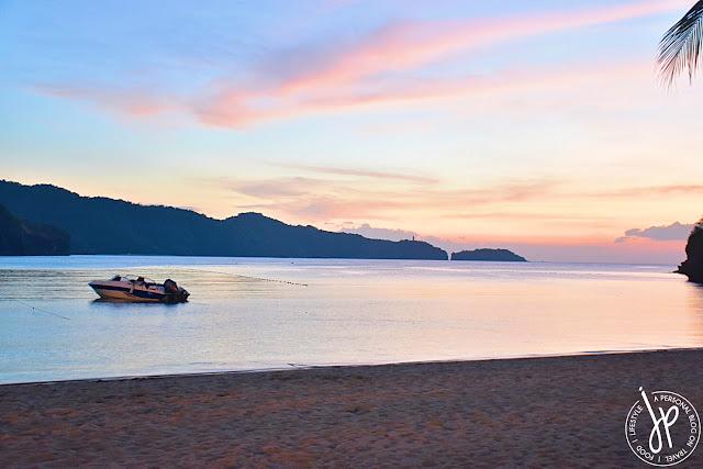 boat, shoreline, sunset, beach