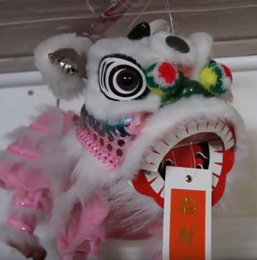 Tet Festival Lion Ornaments Decorations
