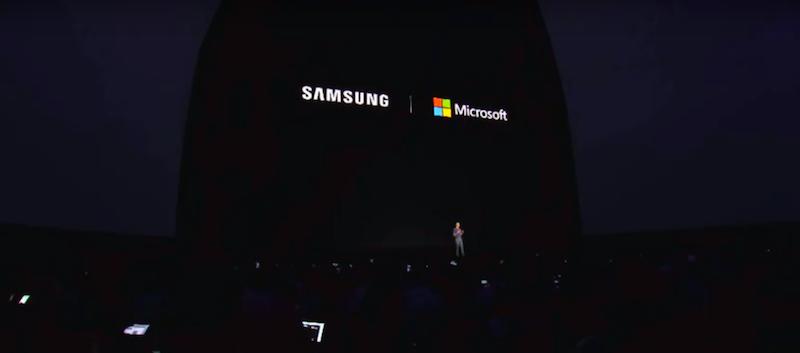 Samsung and Microsoft announces their partnership