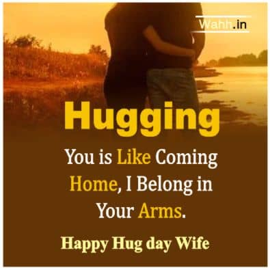 2021 Hug Day Messages in Hindi
