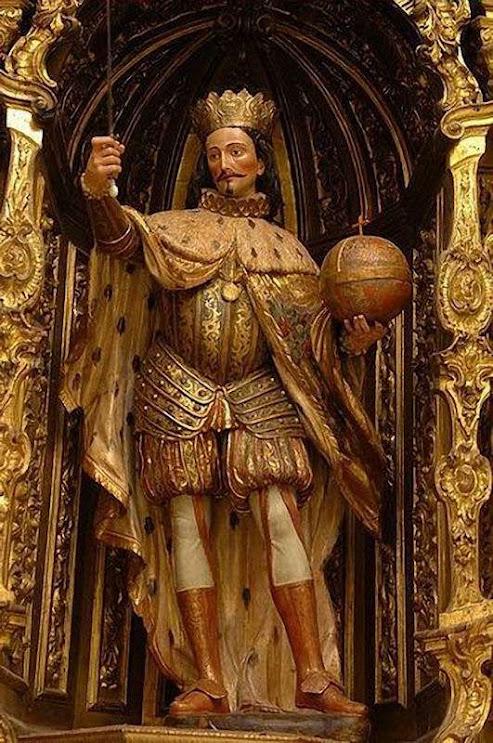 São Fernando III el Santo, catedral de Sevilha, Espanha