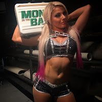 Alexa Bliss Wins Money In The Bank Ladder Match