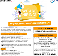 Karir Kerja di PT. Smartfren Telecom Tbk Surabaya Cluster 2 Februari 2021