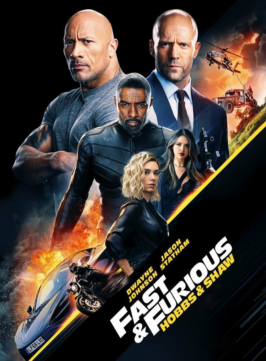 Fast & Furious Presents: Hobbs & Shaw [2019] [CUSTOM HD] [Video Limpio] [DVDR] [NTSC] [Latino]