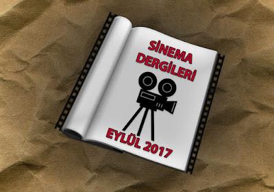 Eylül 2017 Sinema Dergileri