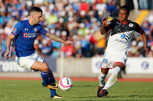 Lobos BUAP derrotó 3-0 a Cruz Azul
