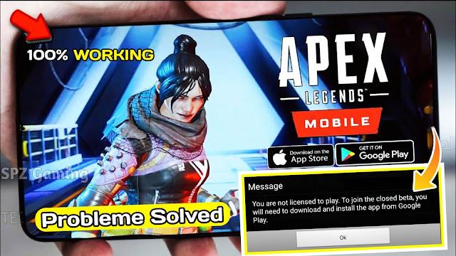 Apex Legends Mobile Download Problem Fix | Apex Legends Mobile Apk + Obb Download Link | 100% Working