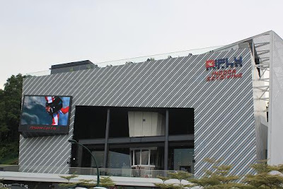 the iFly Singapore building at Sentosa