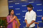 Nani and Keerhi Suresh at Facebook Office-thumbnail-9
