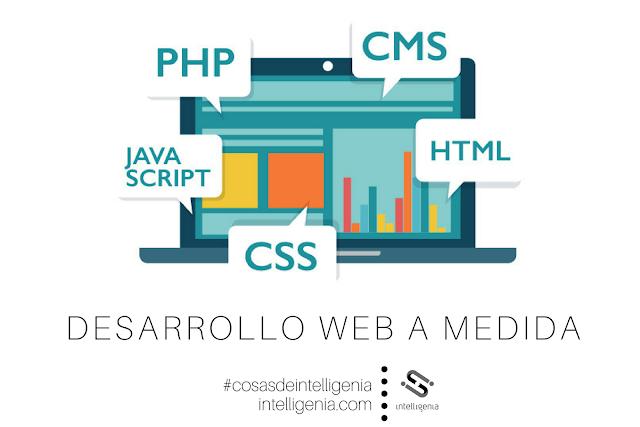 Desarrollo web, Desarrollo a medida, php, cms, javaScript, CSS