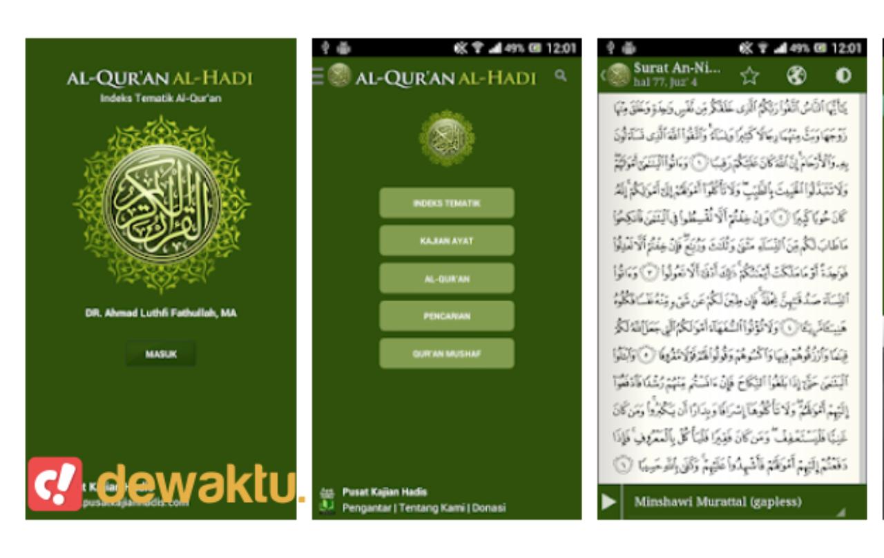 aplikasi android tafsir al quran terbaik