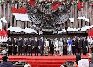 *Presiden Jokowi dan Ma'ruf Amin resmi dilantik*