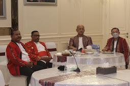 Bersama Jokowi, Murad Ismail dan Forkopimda Maluku Hadiri Upacara Hari Lahir Pancasila