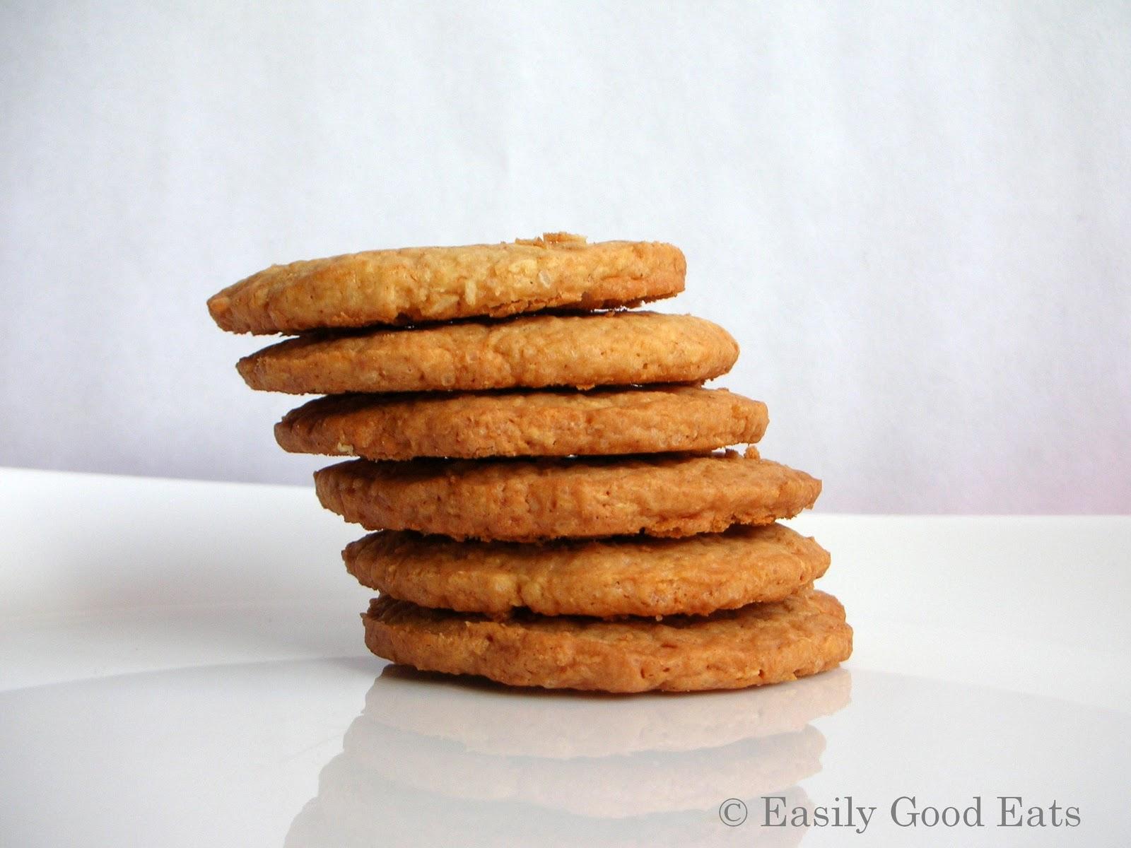 Easily Good Eats Butternut Snap Cookies Recipe