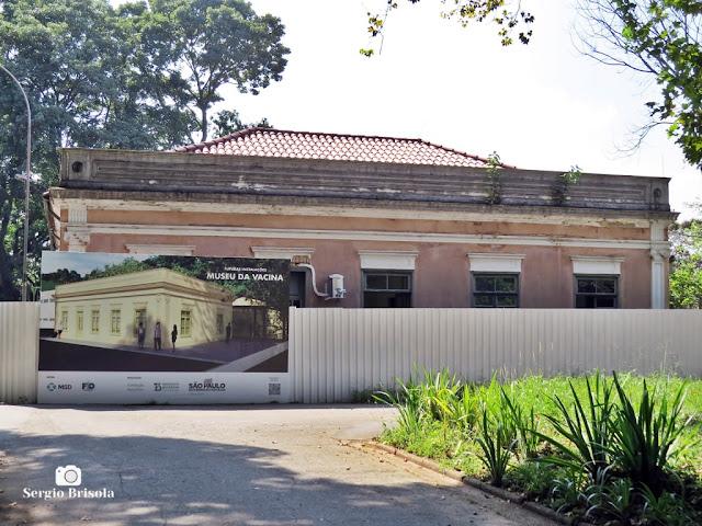 Vista do Casarão Vital Brazil - Futuro Museu da Vacina - Butantã - São Paulo