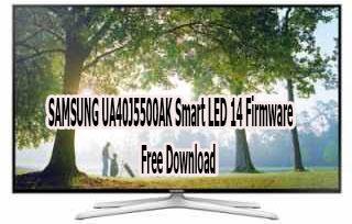 SAMSUNG UA40J5500AK Smart LED 14 Firmware Free Download