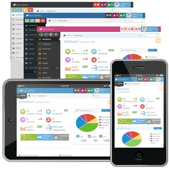 Ace responsive admin template 1 3 download email : 2018