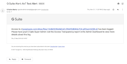 Get Email Alerts and See Associated Tickets for Access Transparency Logs 1