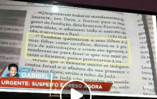 Policia Civil da DIG prende suspeito do Caso Gabriel em Registro-SP