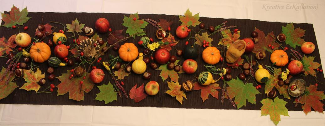 Einfache Herbstdeko Tisch herbstdeko tisch. with herbstdeko tisch. finest grngelb mit