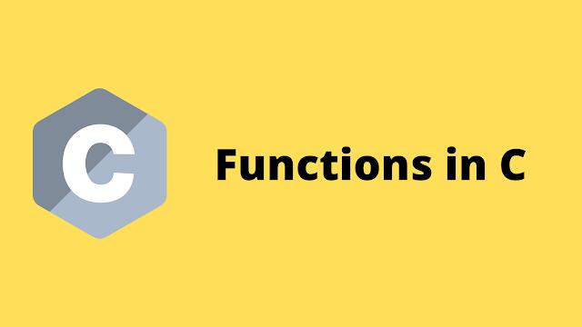 HackerRank Functions in C programming solution