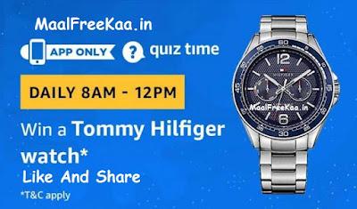 Tommy hilfiger watch quiz time