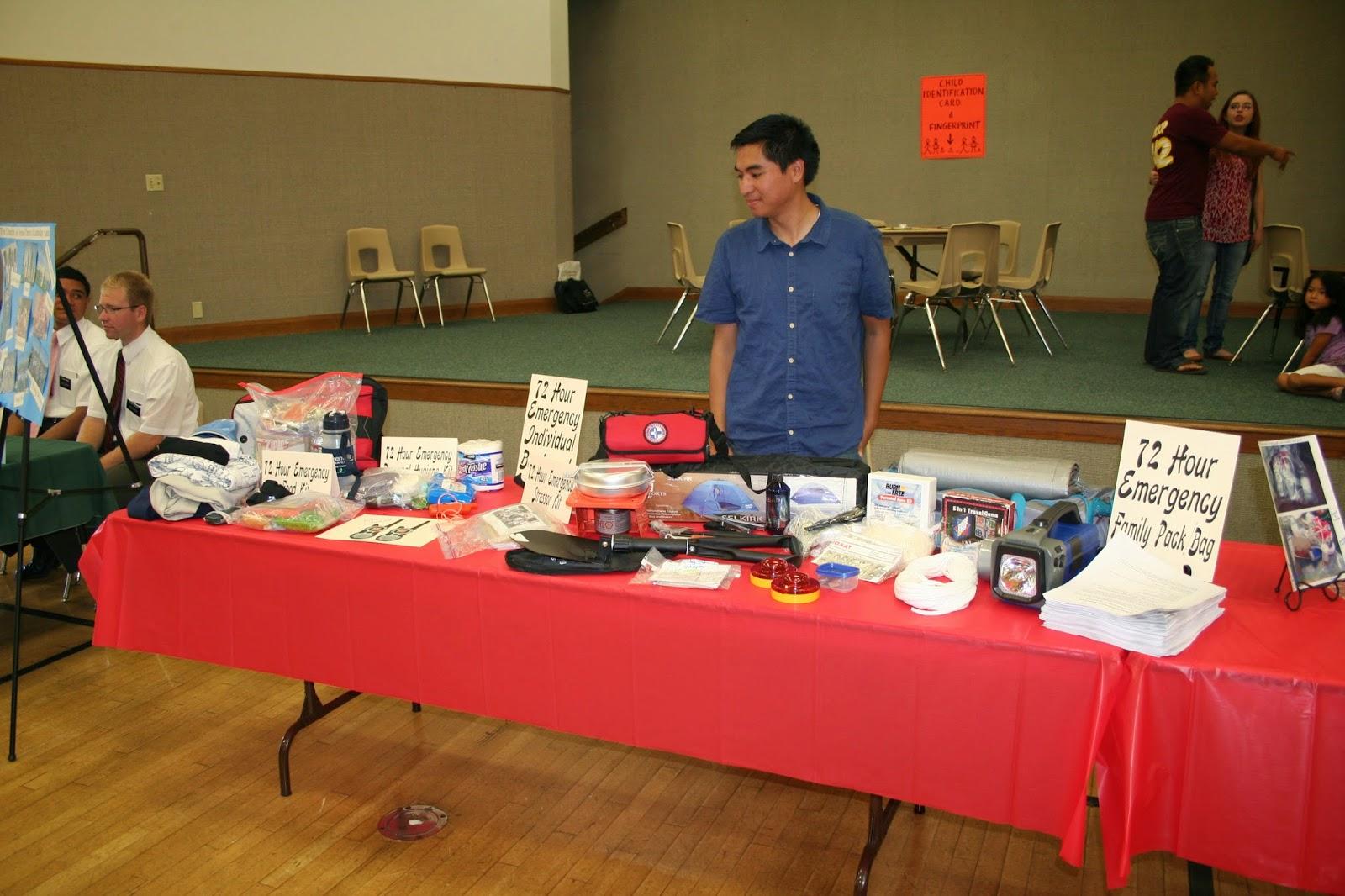 The Ark Carson Ward Food Storage Emergency Preparedness
