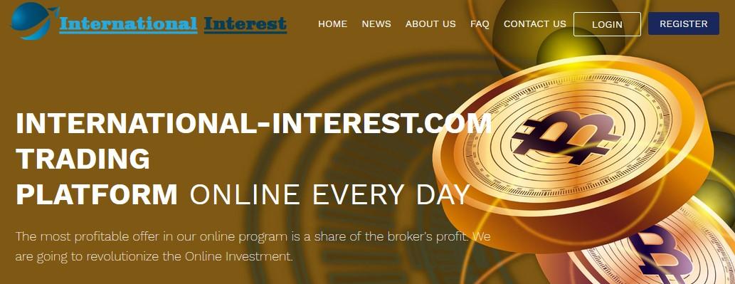 Мошеннический сайт international-interest.com – Отзывы, развод, платит или лохотрон? Мошенники
