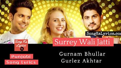 surrey-wali-jatti-lyrics