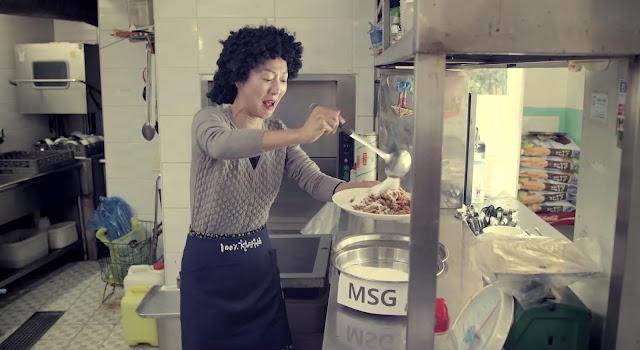 Uso de glutamato monosódico en restaurantes coreanos