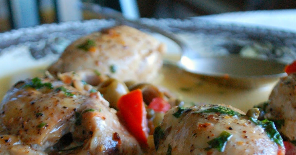 The Spice Garden: Chicken with Olives and Capers