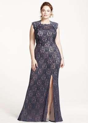 57b050d3f7 Los vestidos largos o semi largos con un corte lateral en la falda que deje  ver la pierna crean un efecto asimétrico que estiliza y alarga la figura.