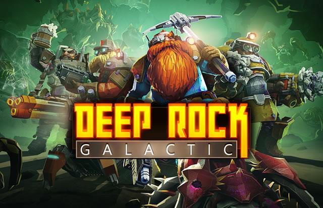Jogue o fim de semena gratuito de Deep Rock Galactic!