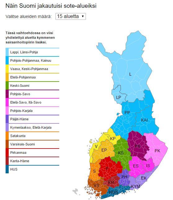 Oppitori Jaa Somessa Suomen Alueet