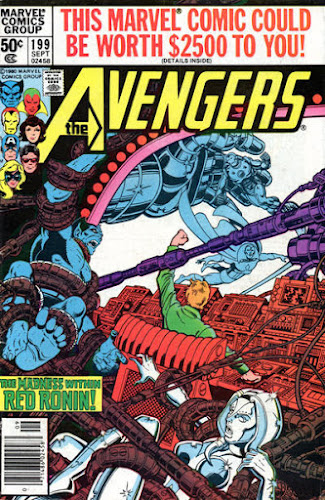 Avengers #199, Red Ronin